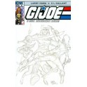 GI JOE 206 RETAIL INCENTIVE SKETCH COVER