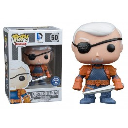 POP ! 50 DC COMICS - DEATHSTROKE [UNMASKED]