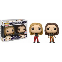 POP ! BUFFY THE VAMPIRE SLAYER 2 PACK EXCLU - BUFFY & FAITH NYCC 2017