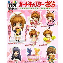CARD CAPTOR SAKURA CHARA FIGURES COMPLETE BOX