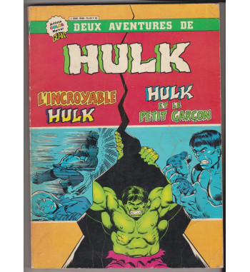 ALBUM HULK RELIE 9000