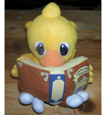 CHOCOBO READING MAGIC BOOK...